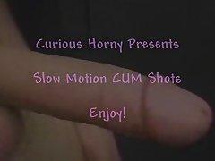 Slow Motion CUM Shots!