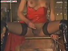 Titty tranny fucks with horny guys