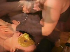 Jam your knobby cock down my cougar throat