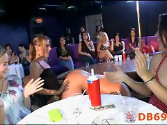 Stripper cock sucking party