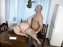 Mature BBW in homemade porn
