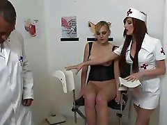 Dutch blonde visits the Squirt Clinic part 1