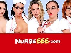 Tiny uniform blonde Kristyna hard vagina widening