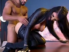 Intense hardcore interracial sex scenes with Romi Rain