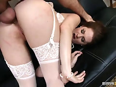 elegant babe allison moore attacked by a bunch of pulsating pricks