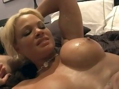 Hunger rhylee richards wants to get two cocks at the same time