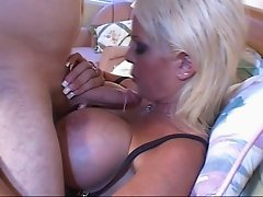 Old Bald Man Banging Big Boobed Blonde MILF Carson Carmichael