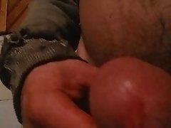 Gay Carlos masturbates in his room