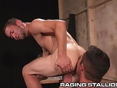 RagingStallion Nick Capra Pounds BackStage