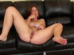 Cute little Jodi Taylor is live on cam toying her twat and posing