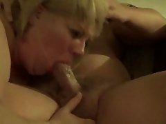 dumb fat slut sucking cock
