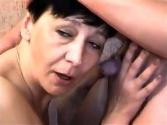 Small tit brunette gives a POV blowjob