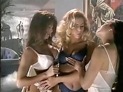 Extraordinary lesbian threesome with a bombshell Racquel Darrian