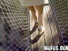 mofos - drone hunter - danica dillon - spying on an outdoor