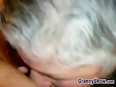 Granny Gives A Great Blowjob