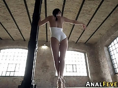 Ballerina anally fucked