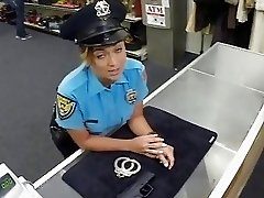 Security officer nailed in the backroom