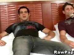 Gay Couple Ripped his partner ass