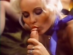 Whore wife rubs her pussy while her husband fucks sweet looking blondie