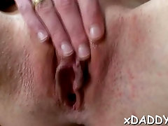 Pecker gets sucked with passion by raunchy girlie Rowena