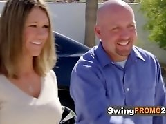 Matt and Mandy join tv show to fulfill their fantasies at swingers mansion