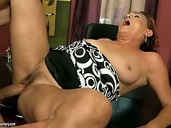 Lupita the granny gets rammed by a fresh faced stud