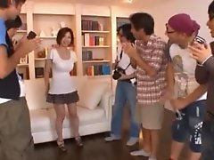 Hot Model Makoto Yuuki Gets Fame and a Gangbang
