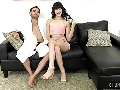 Brunette Eden Sin likes his long dick more than anything