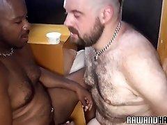 Ebony bare drills tight ass bareback