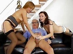 Classy british milf cockriding in ffm