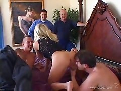 Sexy MILF Gets A Nasty Facial While Her Cuckold Husbands Watches
