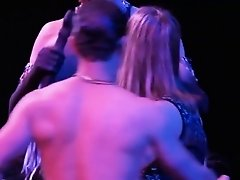 Swinger couples live out their fantasies at a club