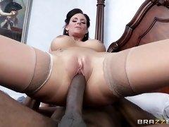phoenix marie riding sean's fat black dick reverse cowgirl
