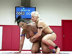 wild and nasty Layton Benton likes to play all lesbian sex games