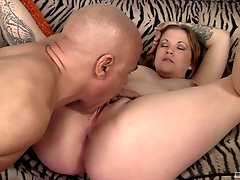 Fine ass girl plays with the dick in very dirty modes