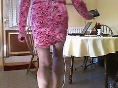 Johanna Pink Dress & E stim