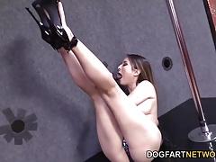 Bliss Dulce Fucks A Random Black Cock In A Strip Club