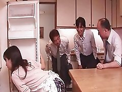 Chihiro Kitagawa Handles Many Dicks Without Fucking Them