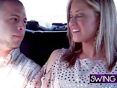Swinger amateur sexy girl prefers women.