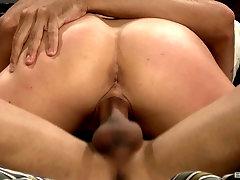 Tttooed maid Dahlia Sky seduces her boss into fucking her