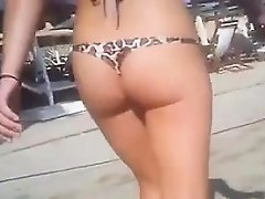 Sweet Booty At The Beach