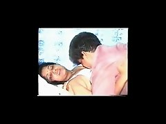 Aroused desi is kneading and suckling bit titties of his wife