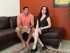During her live show, Jessica gets impaled by a hung stud