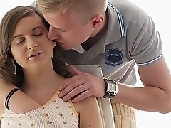 LustHD  Russian Teen Gets A Mouthful of Cum
