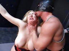 Huge boobed Kathleen fucked hard