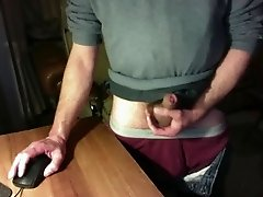 Crotch grab