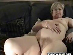 British wife masturbates then gets dicked