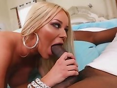 Busty Rachele Richey insane interracial bedroom romance