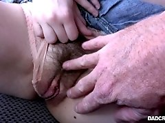 Tali Dova's pussy gets penetrated brutally by her partner