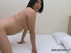 You will need two sex toys to make this Asian nympho happy